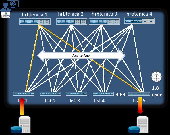 Sodobna omrežja podatkovnih centrov s fabric virtualno šasijo