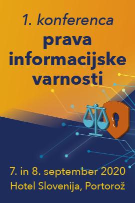 1. konferenca informacijske varnosti